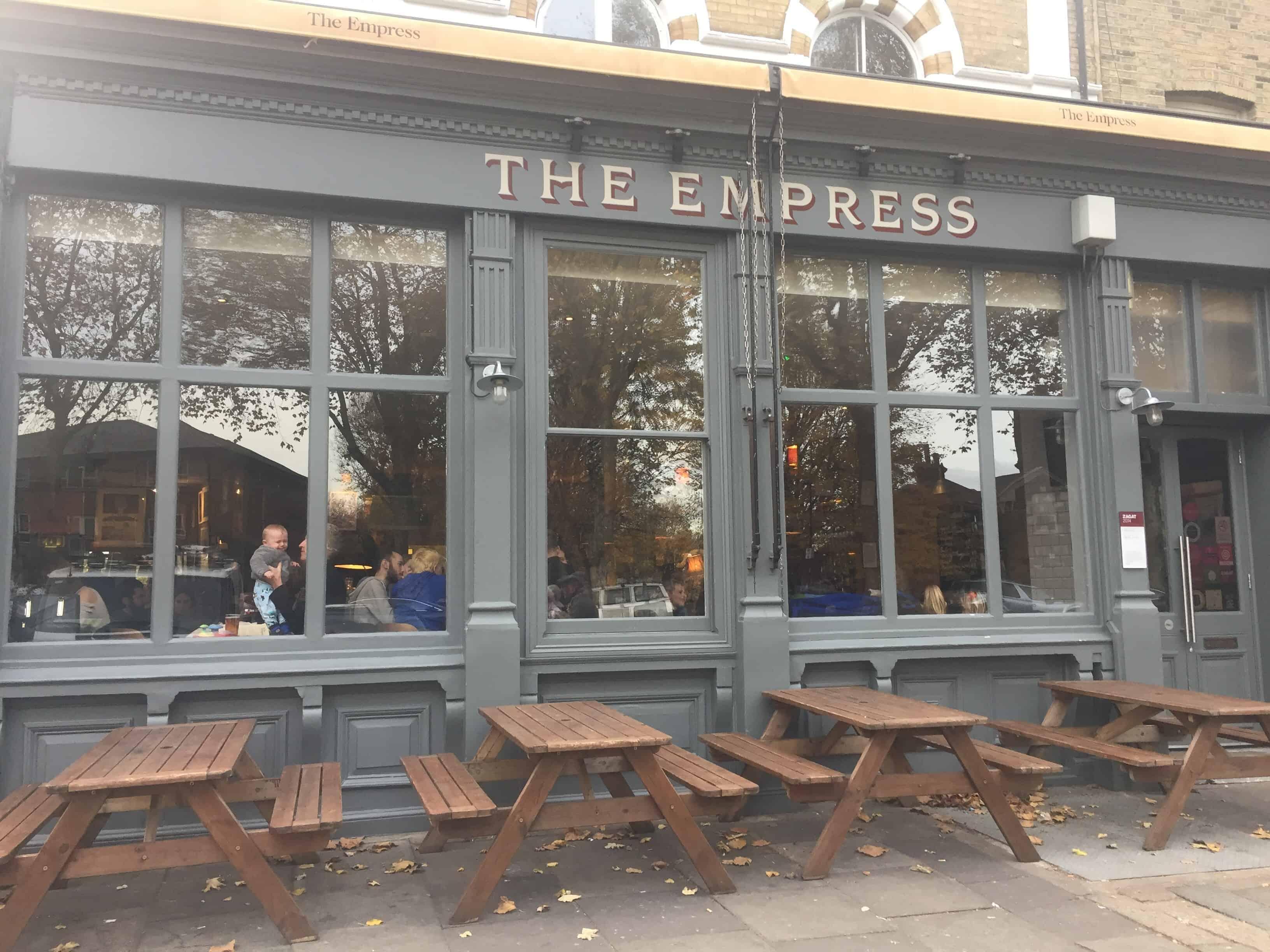 The Empress Restaurant in Victoria Park