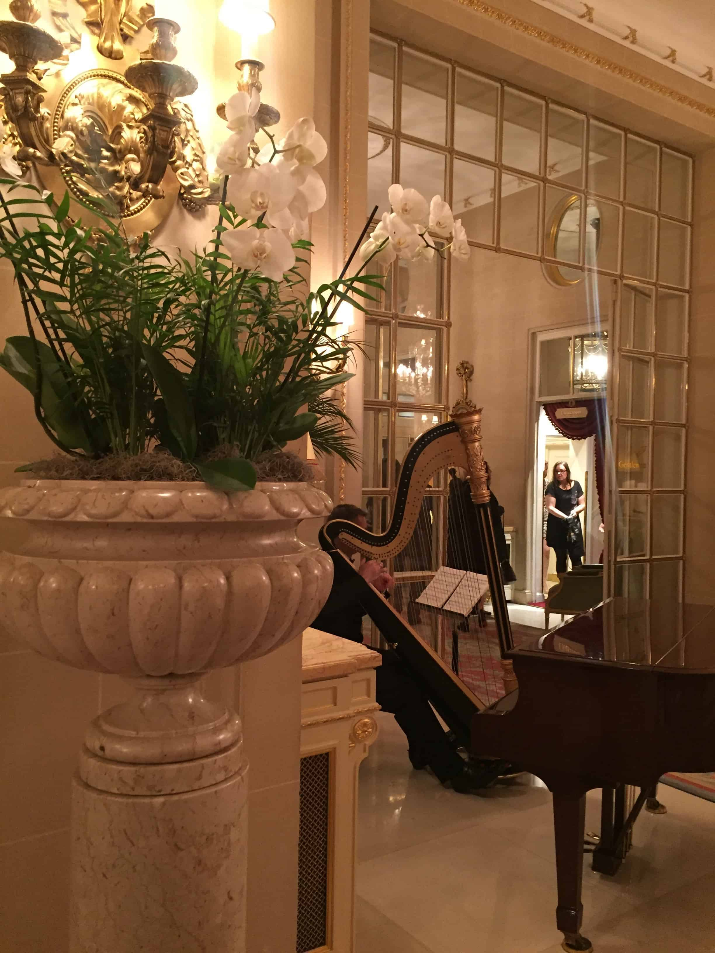 The Ritz Hotel Restaurant in Piccadilly