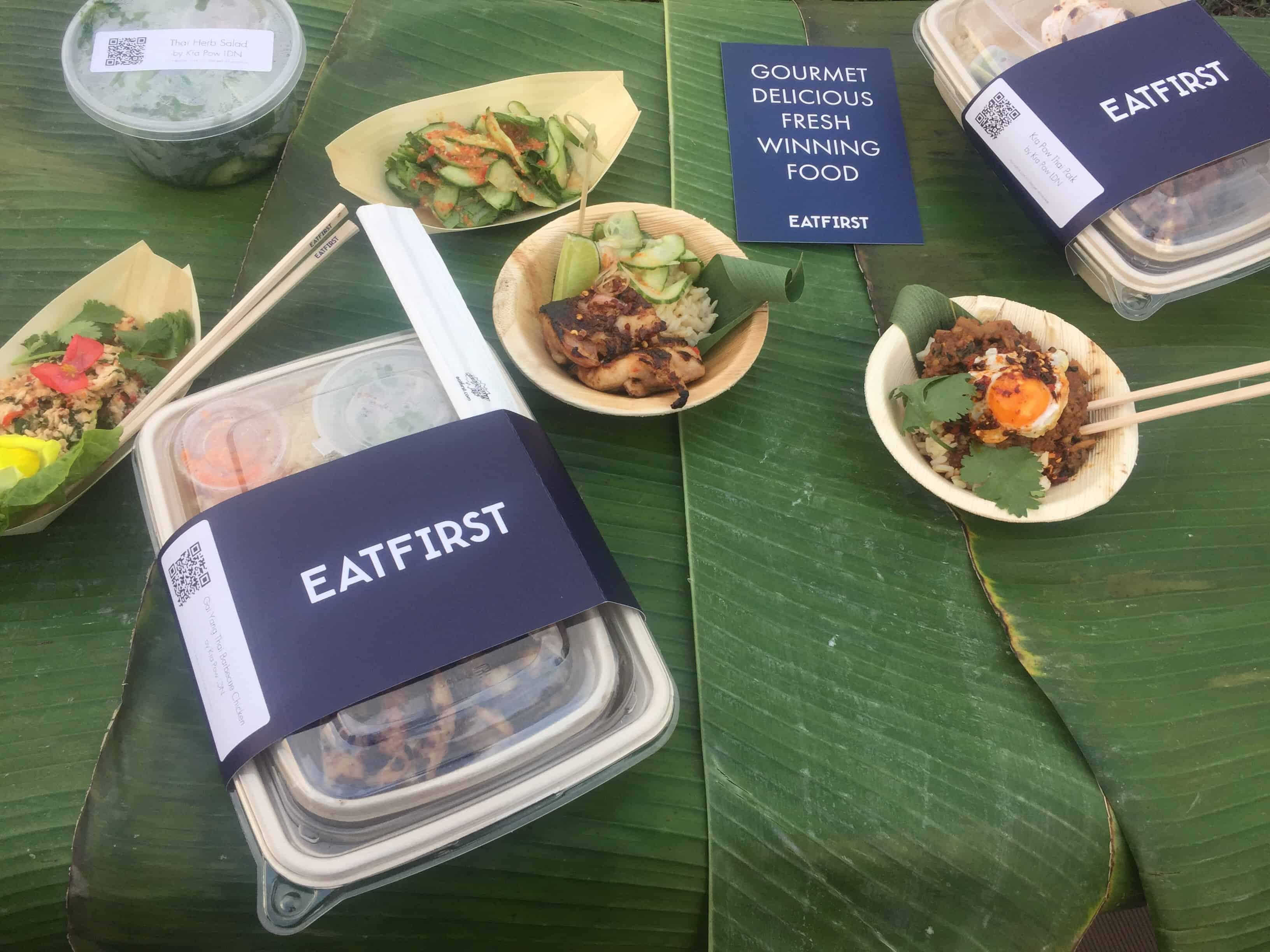 Eat First and Kra Pow collaboration