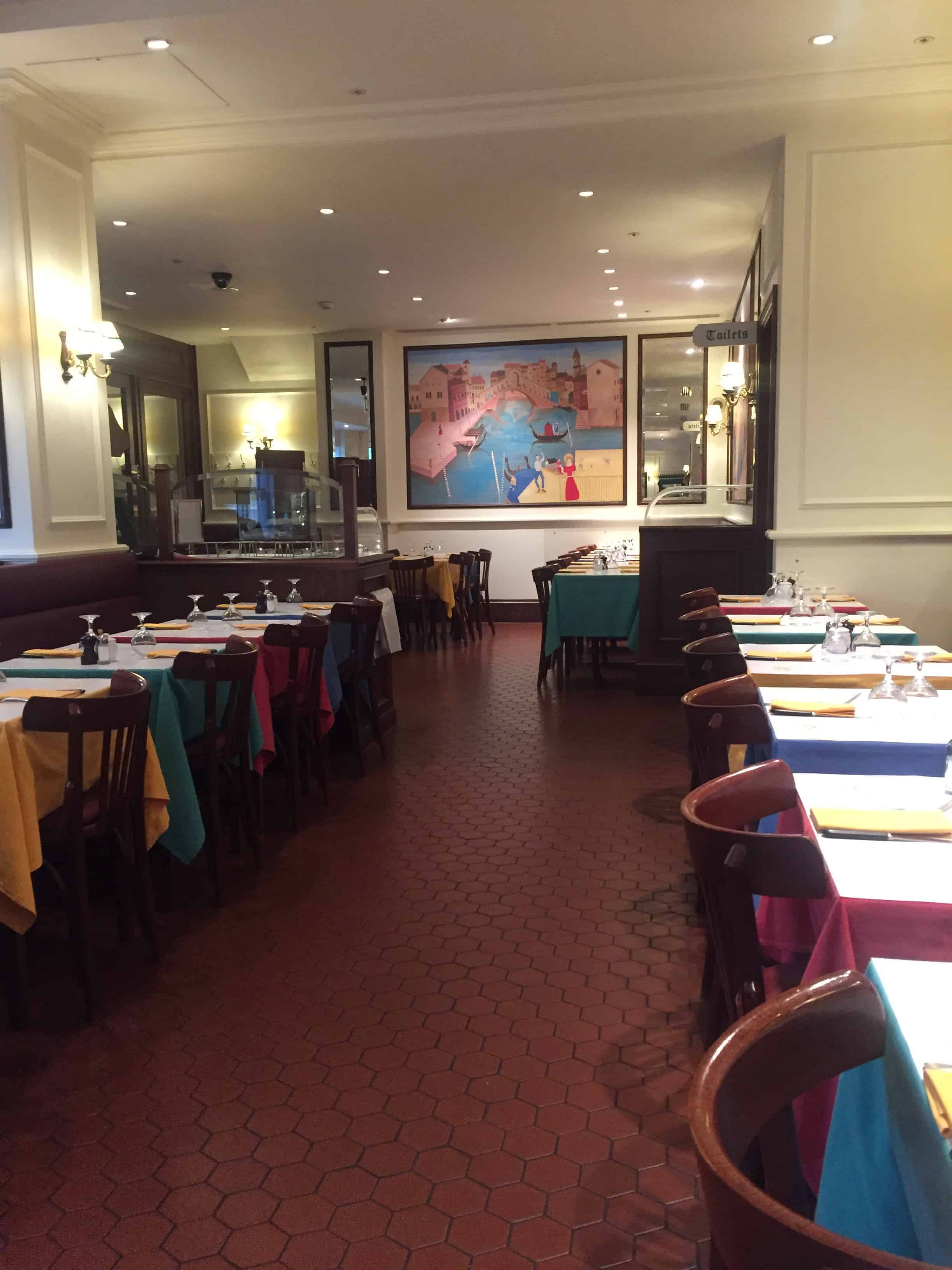 restaurant in Canary Wharf