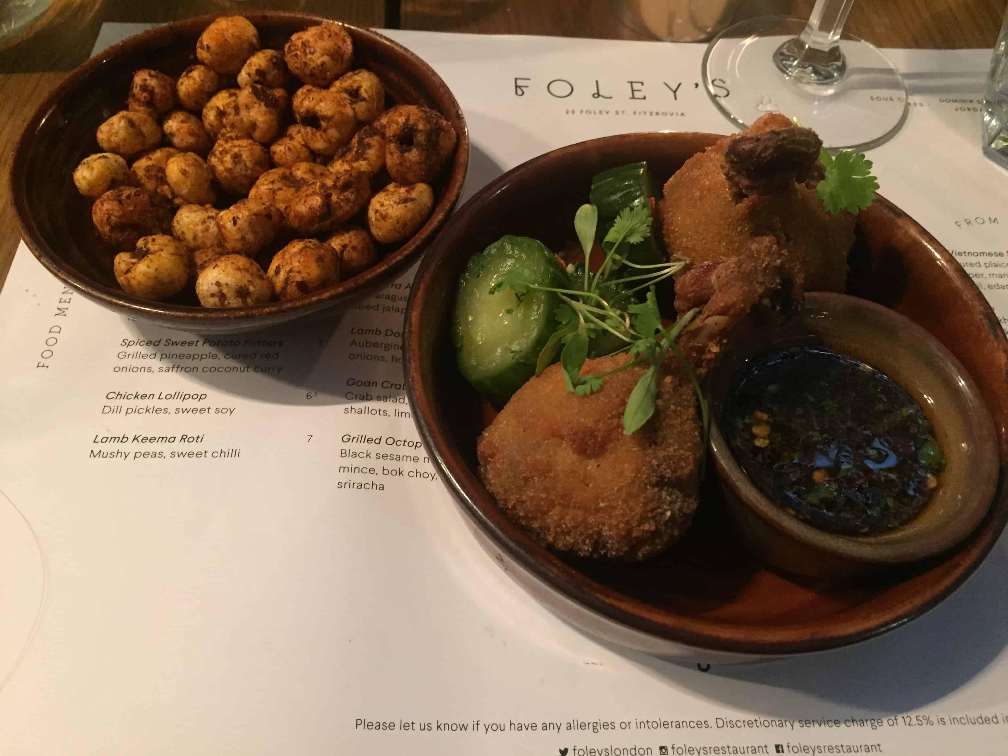 Foleys Restaurant in Fitzrovia