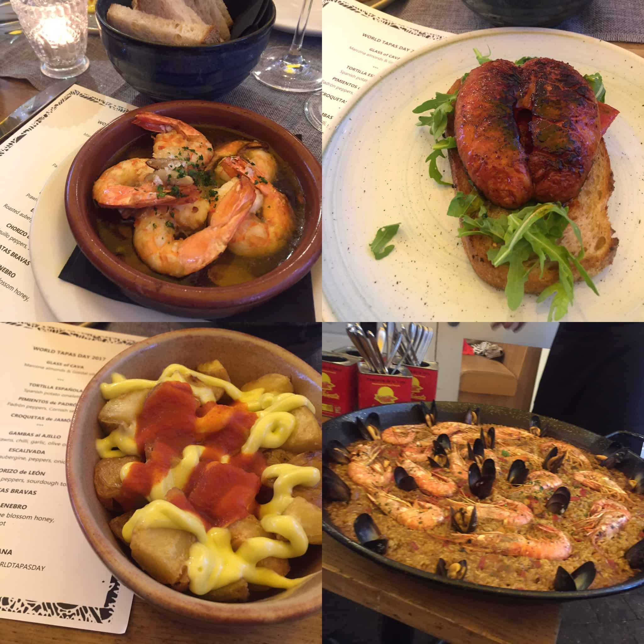 Delicious tapas in Shoreditch