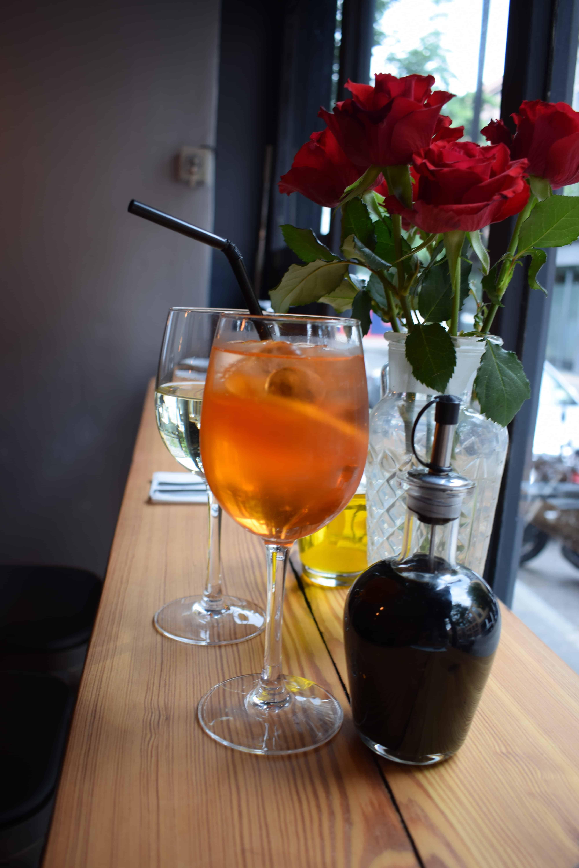 B'acino Wine Bar Restaurant in Shoreditch
