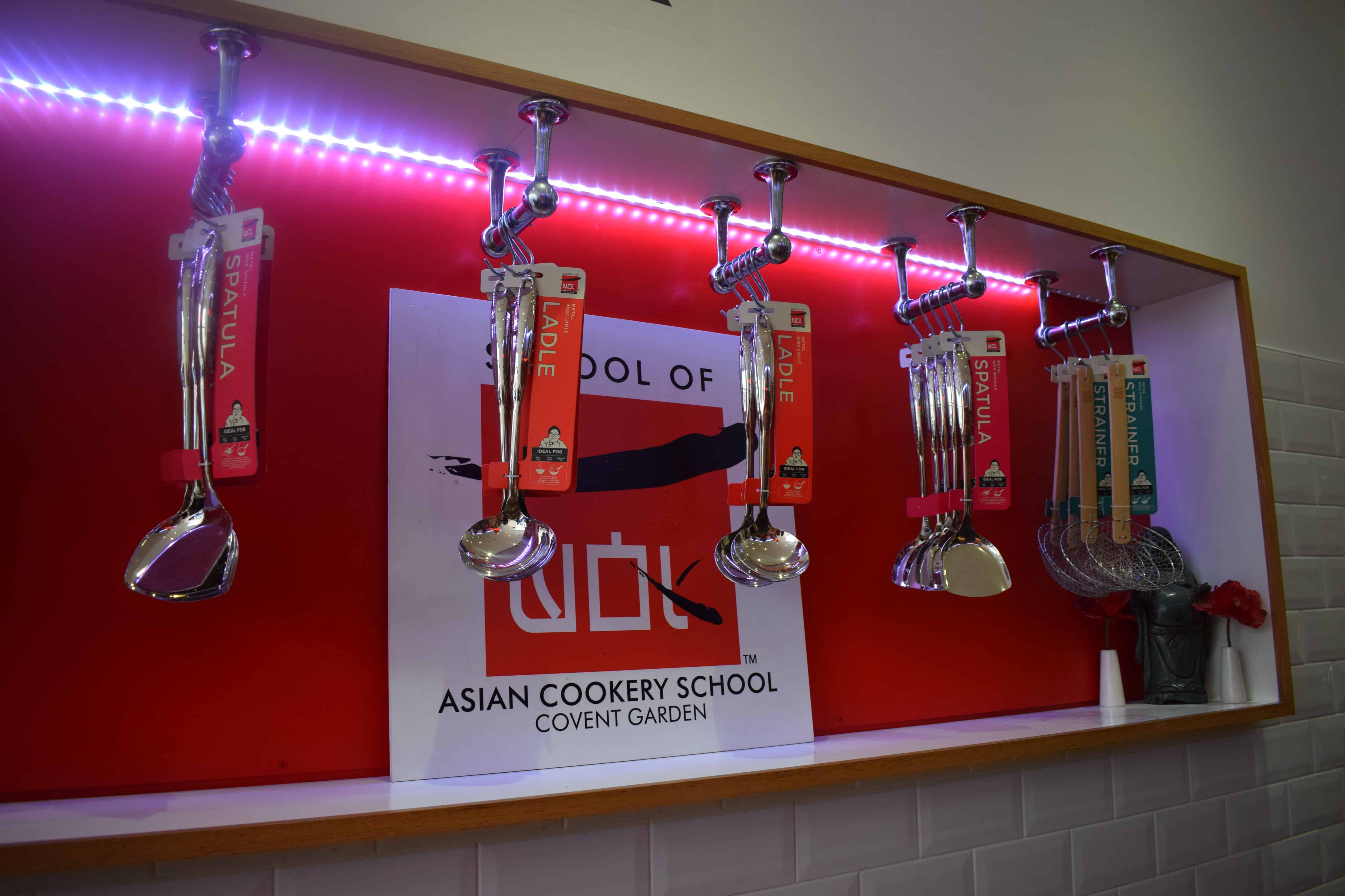 School of Wok cookery class