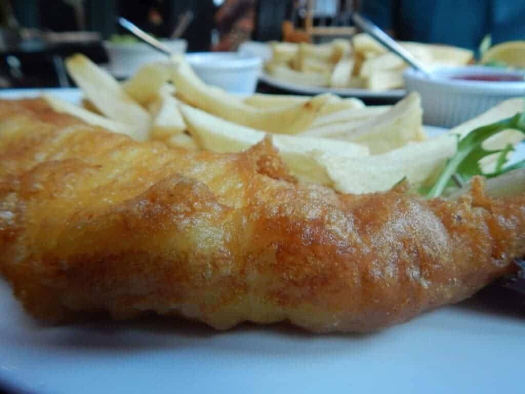Fish and Chips in Fitzrovia (2)