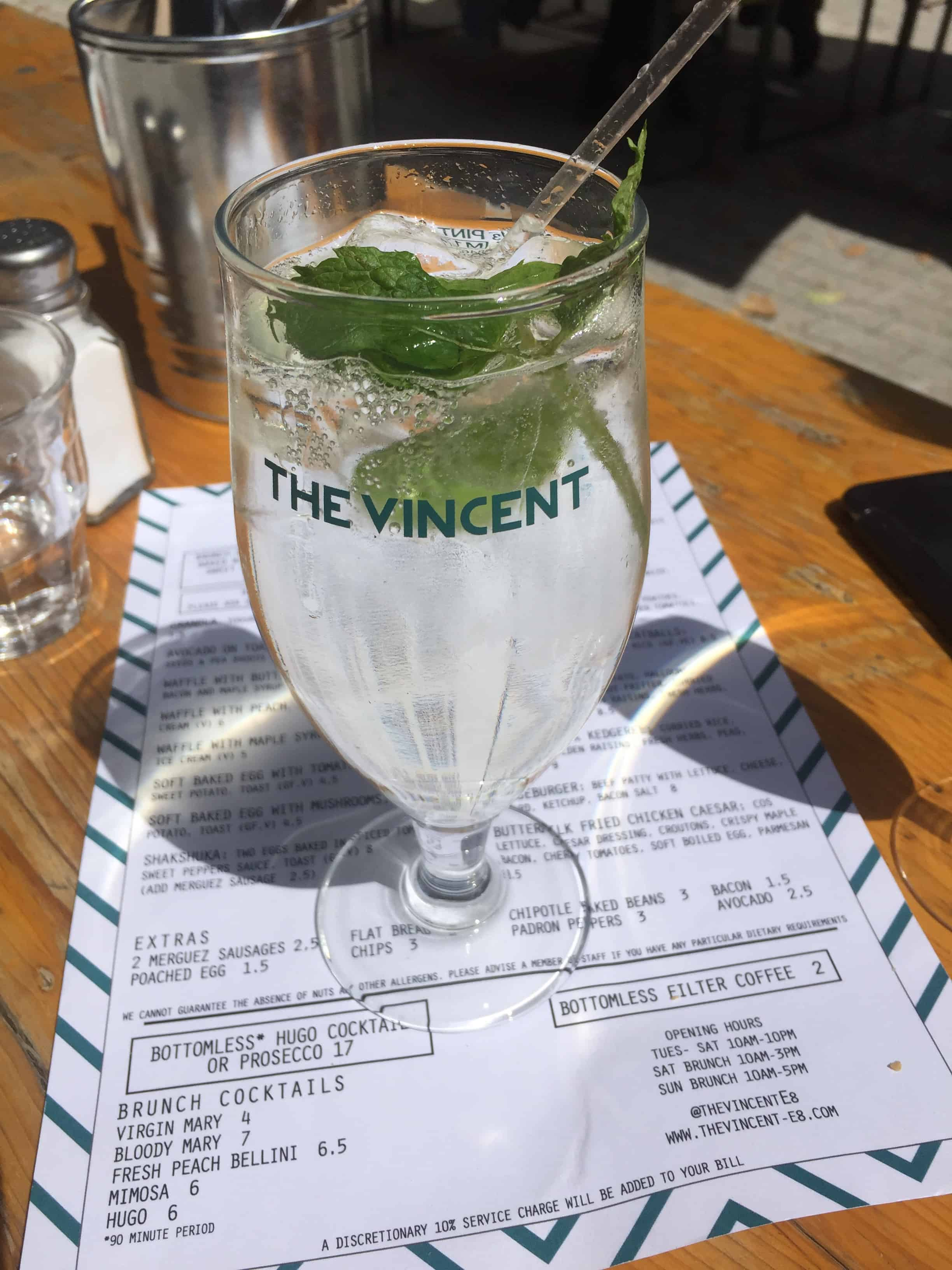 The Vincent Restaurant in Hackney