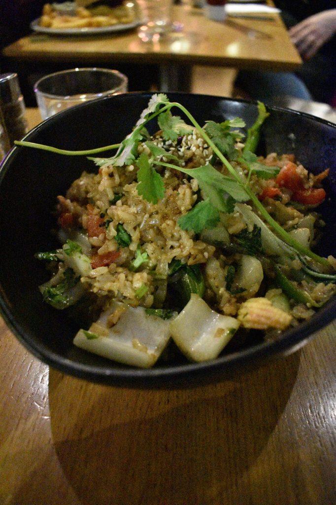 vegan restaurant in king's cross