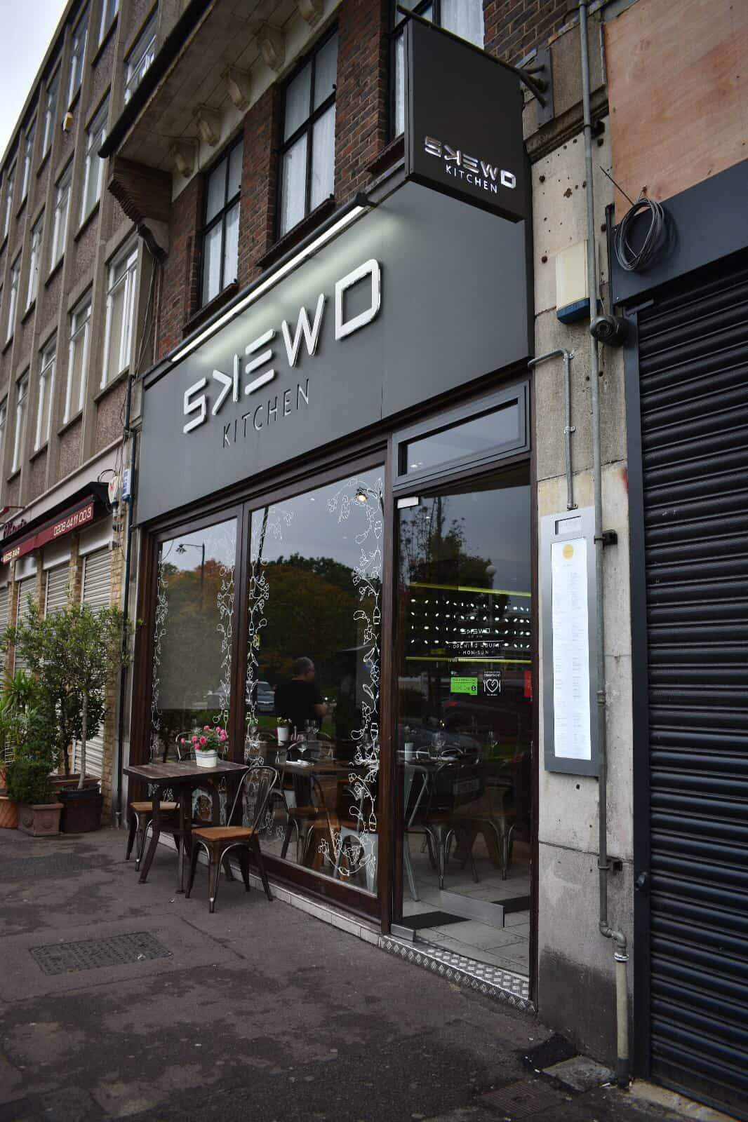 Skewd Restaurant in Barnet