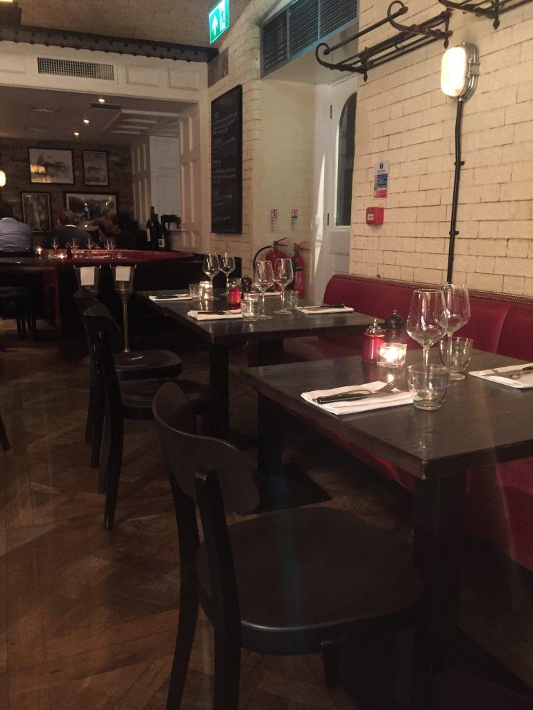 restaurant in Barbican
