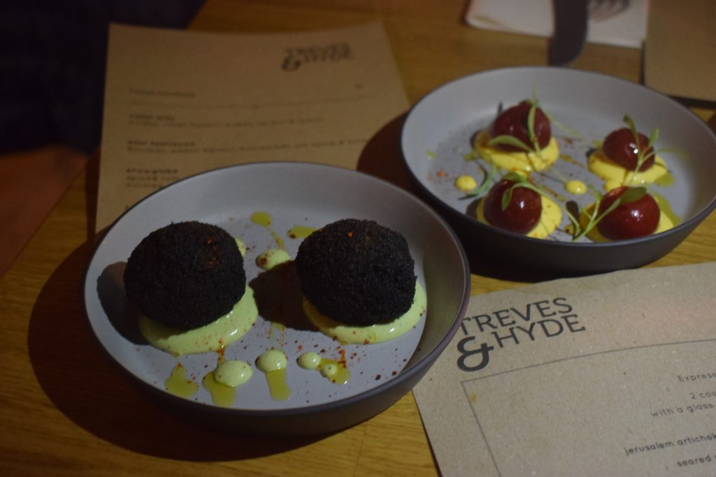 Treves and Hyde Restaurant in Aldgate