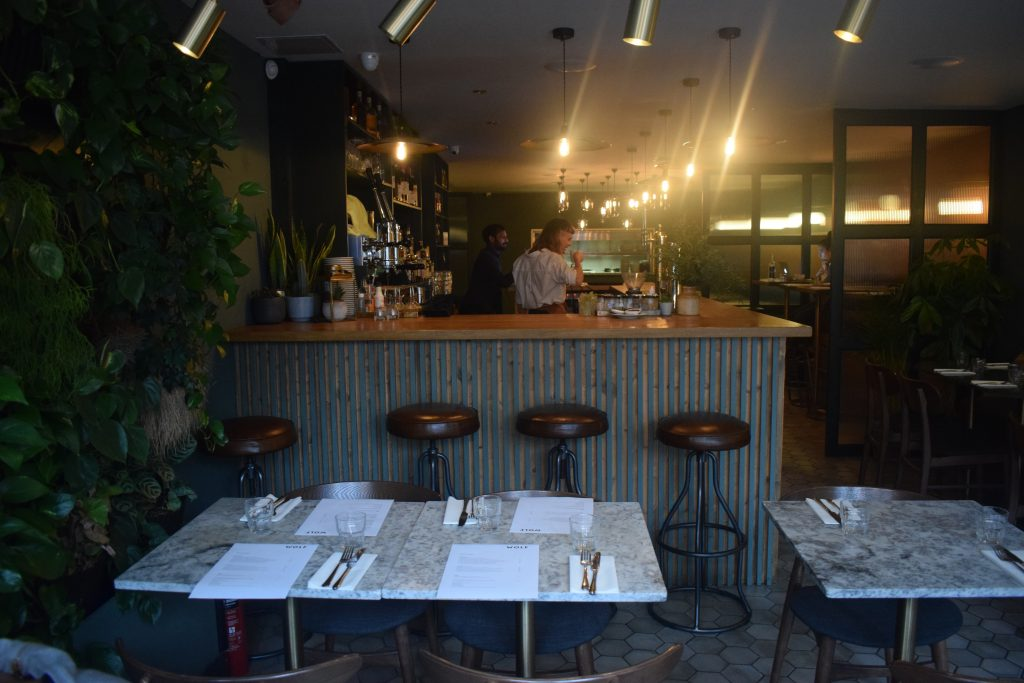 WOLF Italian restaurant Stoke Newington