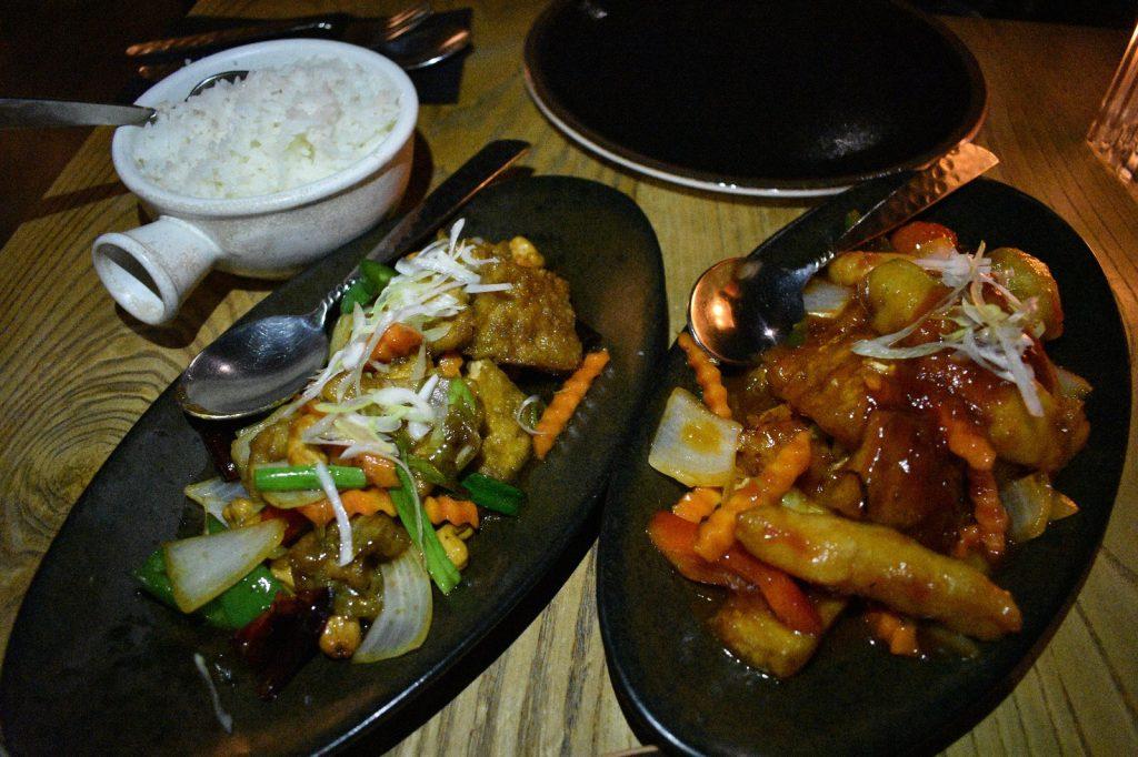 Thai Square Vegan Menu