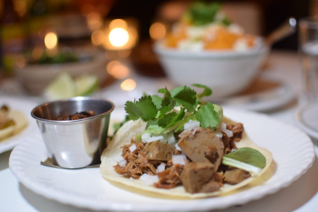 Corazon Mexican restaurant London