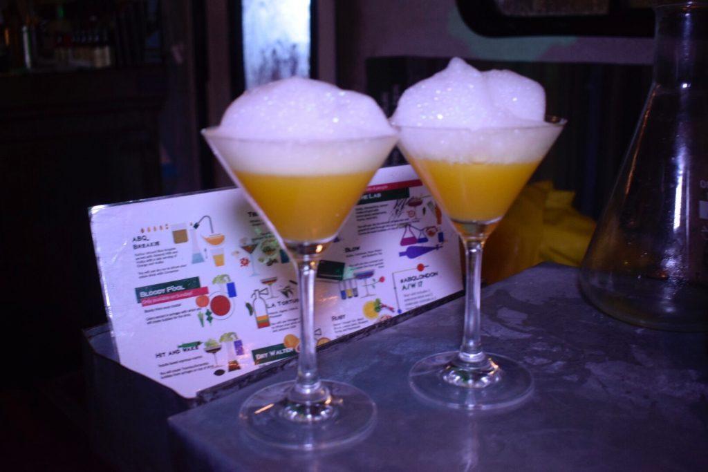 ABQ cocktail bar east london