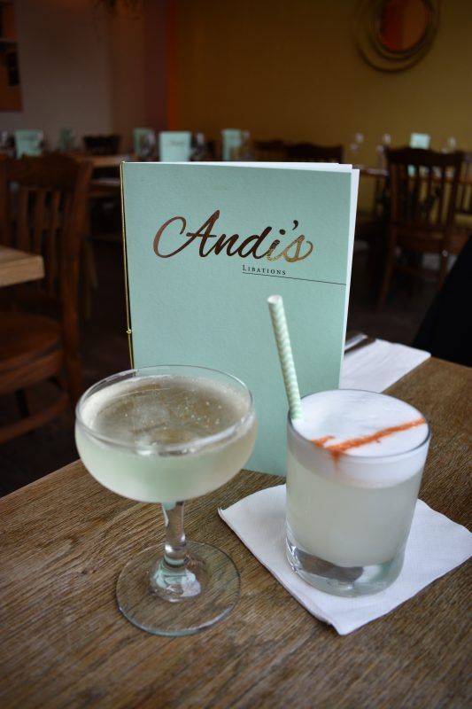 Andi's Restaurant in Stoke Newington