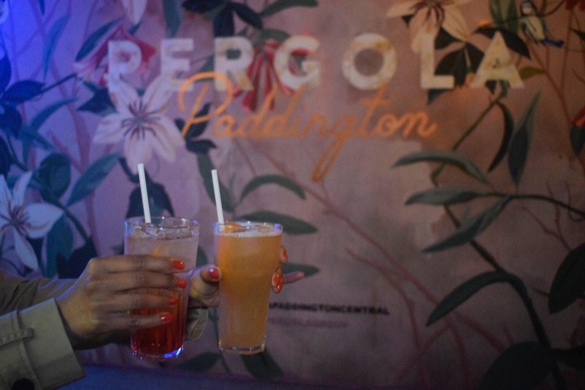 Pergola Pop-Up Bar in Paddington