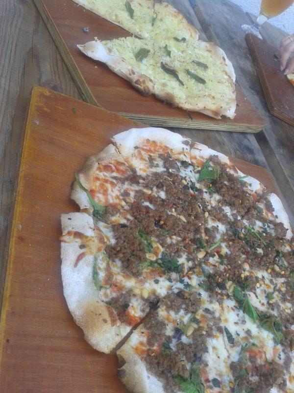 Crate Brewery and Pizzeria Bar in Hackney