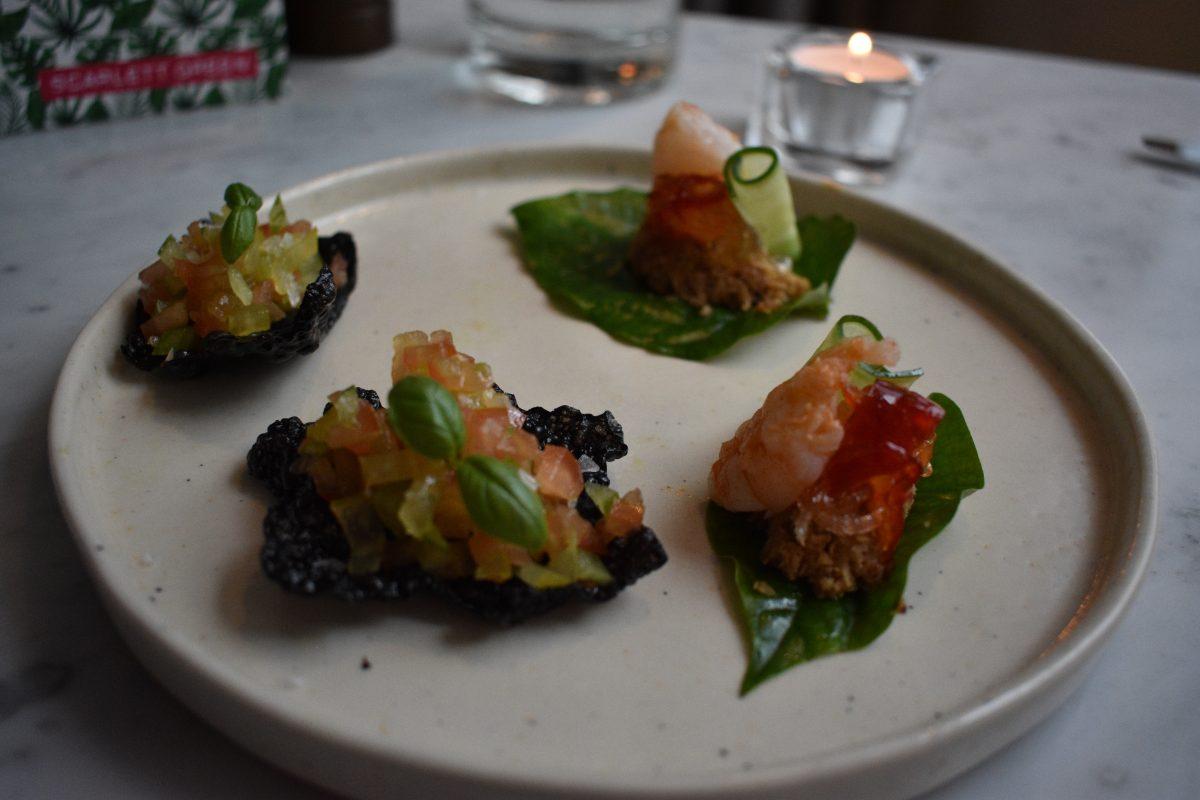 Scarlett Green Restaurant in Soho