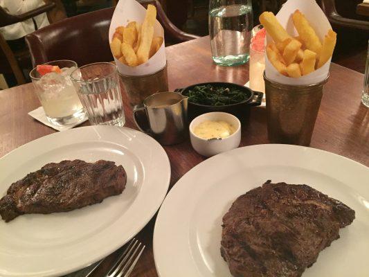 Hawksmoor Steak Restaurant in London
