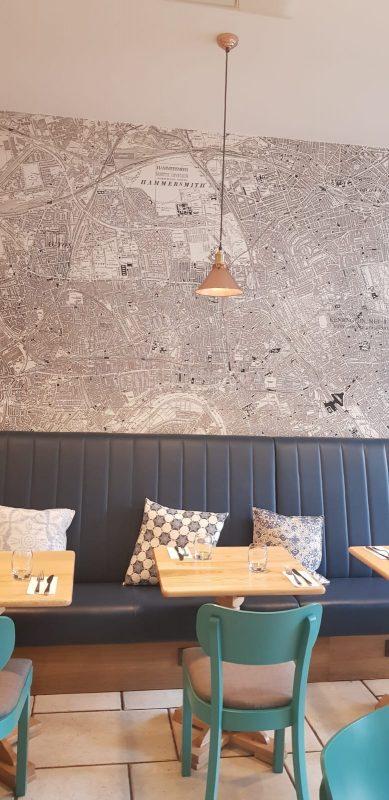 The Cornerhouse Café in Hammersmith