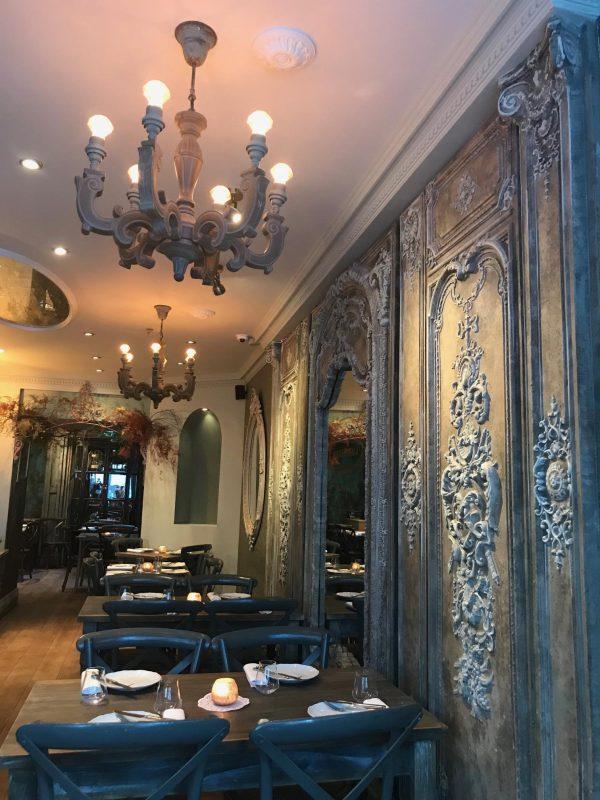 indian restaurant in fitzrovia
