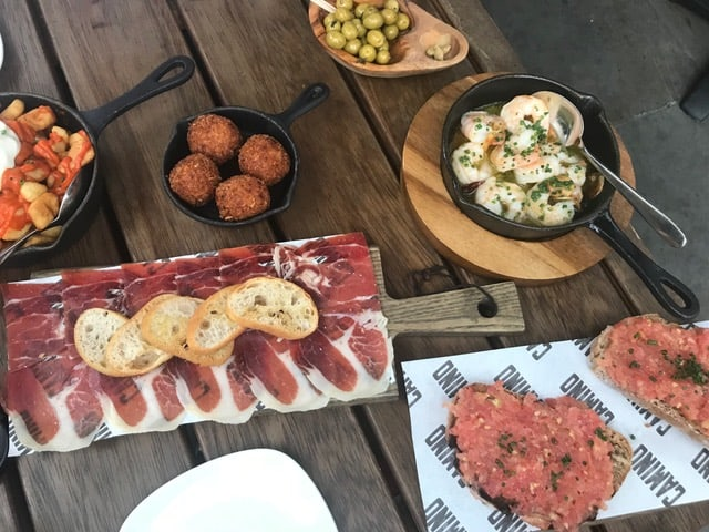 tapas in shoreditch