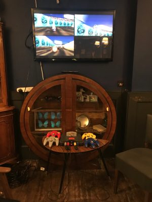 The Little Blue Door Bar in Fulham