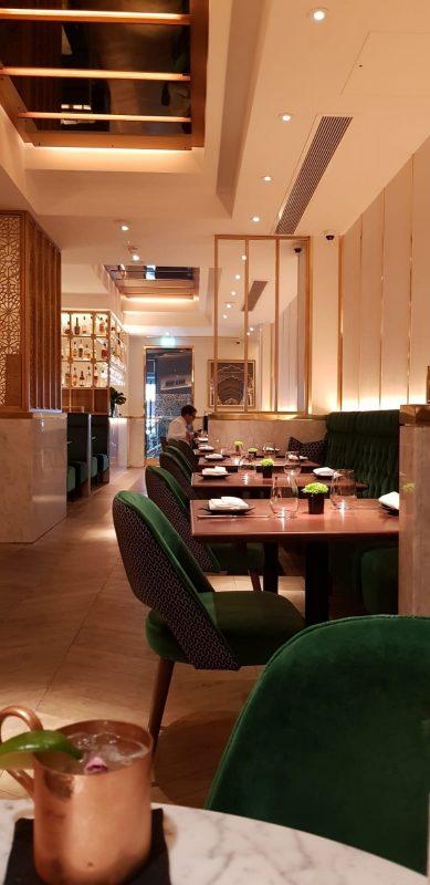 Indian Accent Restaurant in Mayfair