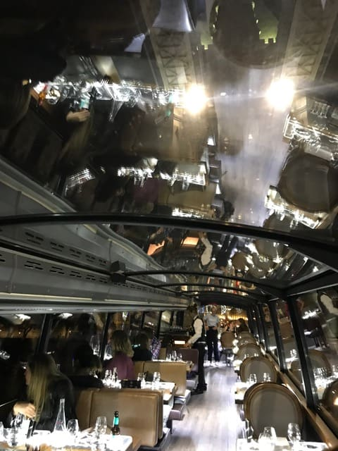 Bustronome Fine Dining London Sightseeing Tour