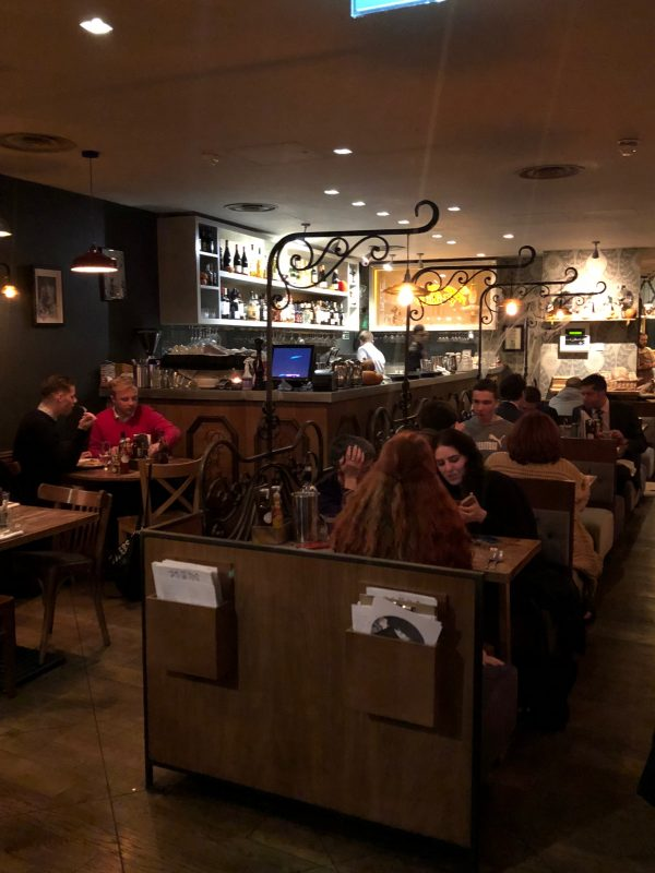 restaurant in soho