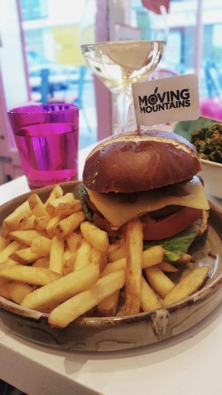 Vegan restaurant in Bloomsbury