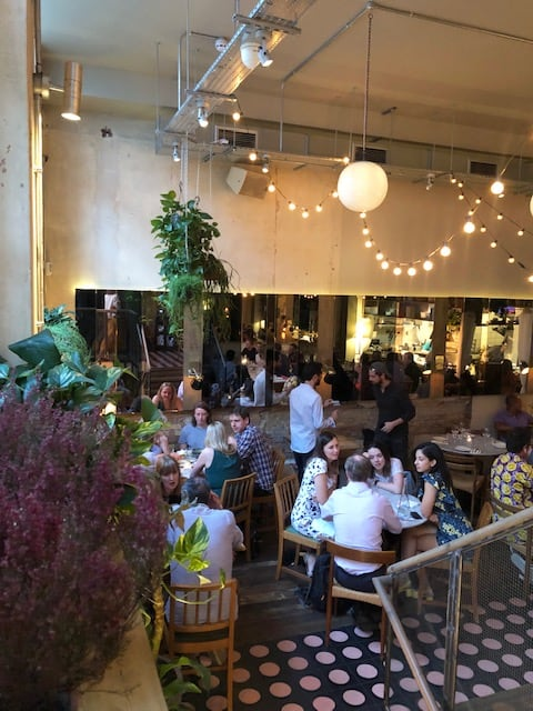 Peruvian restaurant in Shoreditch