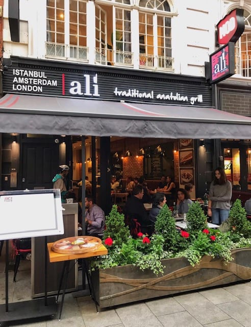 Turkish restaurant in Leicester Square