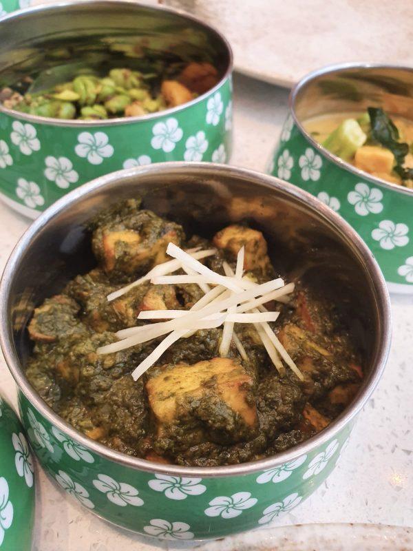 modern indian restaurant in marylebone