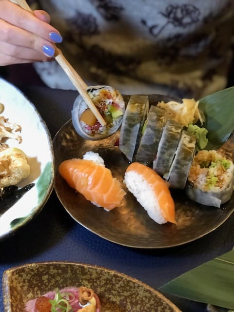 japanese sushi restaurant in london